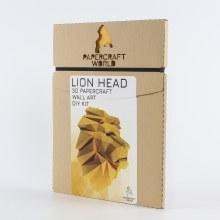 3D PaperCraft Wall Art DIY Kits - Lion