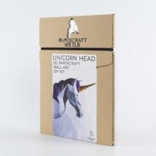 3D PaperCraft Wall Art DIY Kits - Unicorn