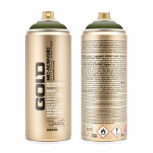 Montana GOLD Spray Color, Olive Green - 400ml Spray Can