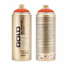Montana GOLD Spray Color, Power Orange - 400ml Spray Can