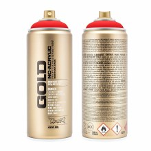 Montana GOLD Spray Color, Fire Red - 400ml Spray Can