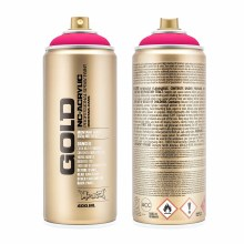 Montana GOLD Spray Color, Gleaming Pink - 400ml Spray Can