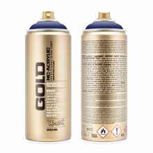 Montana GOLD Spray Color, Blue Velvet - 400ml Spray Can