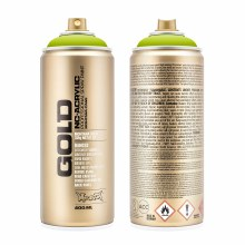 Montana GOLD Spray Color, Lime - 400ml Spray Can