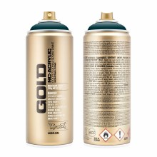 Montana GOLD Spray Color, Petrol - 400ml Spray Can