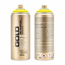 Montana GOLD Spray Color, 100% Yellow - 400ml Spray Can