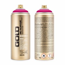 Montana GOLD Spray Color, 100% Magenta - 400ml Spray Can