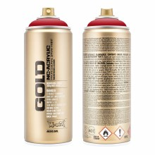 Montana GOLD Spray Color, Shock KENT Blood Red - 400ml Spray Can