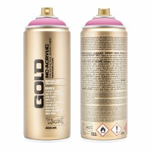 Montana GOLD Spray Color, Shock Pink Light - 400ml Spray Can