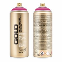 Montana GOLD Spray Color, Shock Pink - 400ml Spray Can