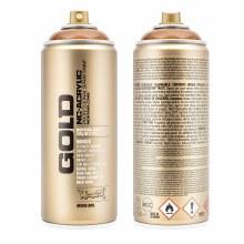 Montana GOLD Spray Color, Transparent Hazelnut - 400ml Spray Can