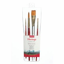 Princeton Professional 4-Brush Sets, Heritage Professional 4-Brush Set
