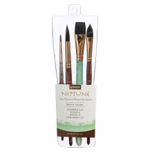 Princeton Professional 4-Brush Sets, Neptune Professional 4-Brush Set
