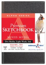 Alpha Series Hard-Cover Sketch Books, 4 in. x 6 in.