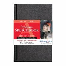 Alpha Series Hard-Cover Sketch Books, 5.5 in. x 8.5 in.