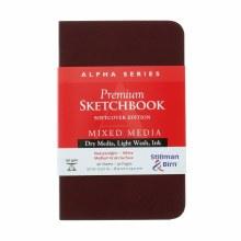 Alpha Series Soft-Cover Sketch Books, 3.5 in. x 5.5 in.