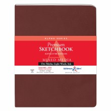 Alpha Series Soft-Cover Sketch Books, 8 in. x 10 in.