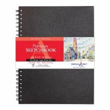 Alpha Series Hard-Cover Sketch Books, 9 in. x 12 in.