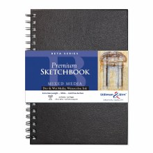 Beta Series Hard-Cover Sketch Books, 7 in. x 10 in.