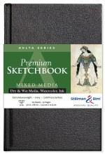 Delta Series Hard-Cover Sketch Books, 5.5 in. x 8.5 in.