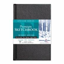 Epsilon Series Hard-Cover Sketch Books, Hard-Bound, 5.5 in. x 8.5 in.