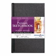 Zeta Series Hard-Cover Sketch Books, 5.5 in. x 8.5 in.