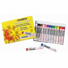 Cray-Pas Junior Artist Oil Pastels, 12-Color Set