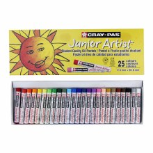 Cray-Pas Junior Artist Oil Pastels, 25-Color Set