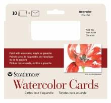 Strathmore Watercolor Cards, 5 in. x 7 in. - 10/Pkg.
