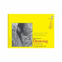 Strathmore Drawing Paper Pads - 300 Series, Spiral-Bound? 25 Sheets/Pad, 18 in. x 24 in.