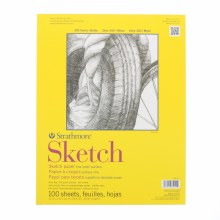 Strathmore Sketch Paper Pads - 300 Series, Tape-Bound, 11 in. x 14 in.