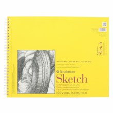 Strathmore Sketch Paper Pads - 300 Series, Spiral-Bound, 14 in. x 17 in.