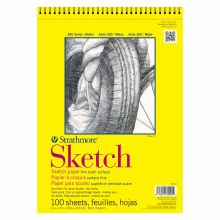 Strathmore Sketch Paper Pads - 300 Series, Spiral-Bound, 9 in. x 12 in.