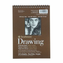 Strathmore Drawing Paper Pads - 400 Series, Medium Surface, 6 x 8