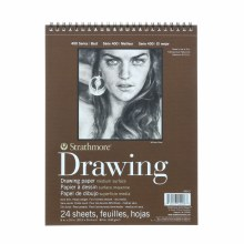 Strathmore Drawing Paper Pads - 400 Series, Medium Surface, 8 in. x 10 in.
