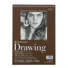 Strathmore Drawing Paper Pads - 400 Series, Medium Surface, 9 in. x 12 in.