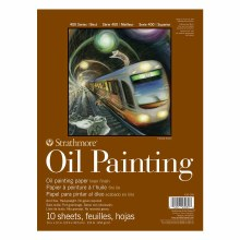 Strathmore Oil Painting Paper Pads - 400 Series, 9 in. x 12 in.