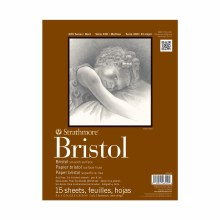 Strathmore Bristol Paper Pads - Series 400, Smooth, 9 in. x 12 in. - 15 Shts./Pad