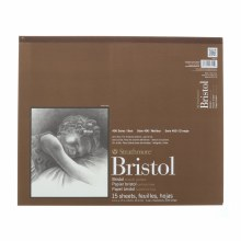 Strathmore Bristol Paper Pads - Series 400, Smooth, 14 in. x 17 in. - 15 Shts./Pad