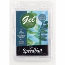 Speedball Gel Printing Plates, Single Plates, 5 in. x 7 in.
