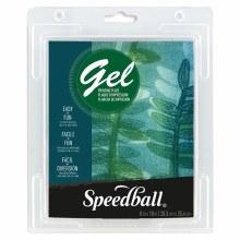 Speedball Gel Printing Plates, Single Plates, 8 in. x 10 in.