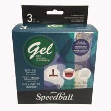Gel Printing Tool Kit, 3 Pieces Including 5 in. x 5 in. Gel Printing Plate &Essential Tools; Peggable