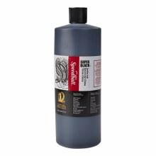 Super Black India Ink, 32 oz.