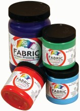 Fabric Screen Printing Inks, 8 oz., Violet