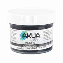 Akua Intaglio Ink, 2 oz. Jars, Bone Black