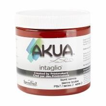 Akua Intaglio Ink, 8 oz. Jars, Burnt Sienna