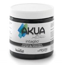 Akua Intaglio Ink, 8 oz. Jars, Carbon Black