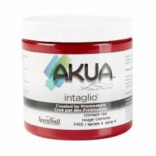 Akua Intaglio Ink, 8 oz. Jars, Crimson Red