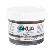 Akua Intaglio Ink, 2 oz. Jars, Graphite