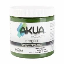Akua Intaglio Ink, 8 oz. Jars, Green Oxide